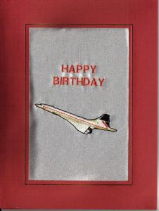 HAPPY BIRTHDAY - Concorde - Cards